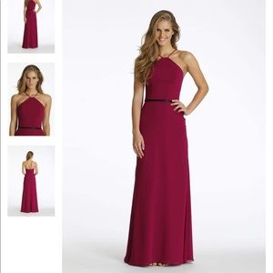 Hayley Paige Occasions Bridesmaid Dress in Black